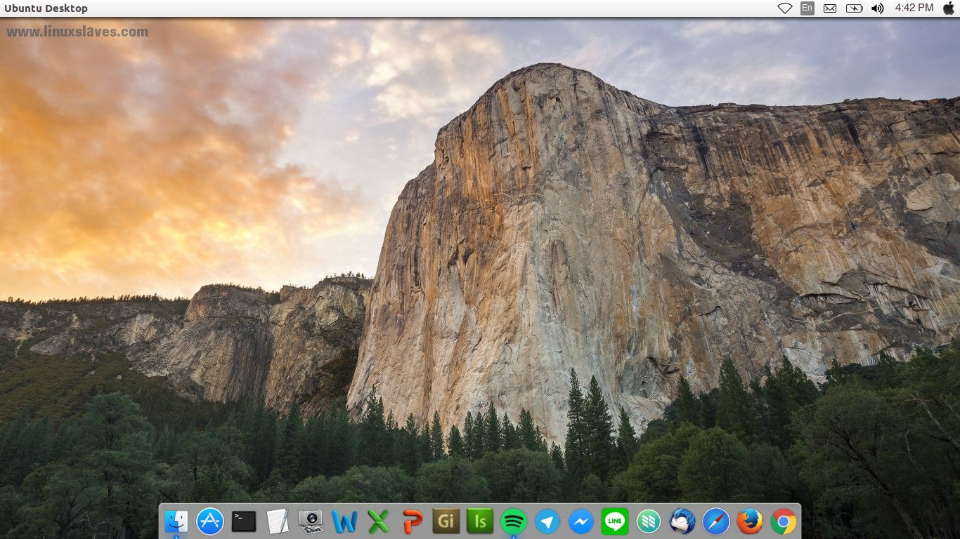 Macbuntu: Mac OS X Yosemite Theme for Ubuntu 16 04 LTS