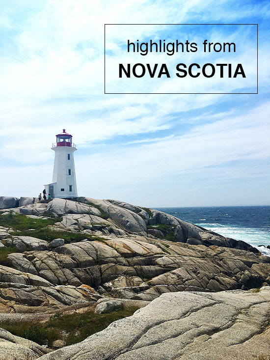 highlights from nova scotia / www.sunshineandwhimsy.net