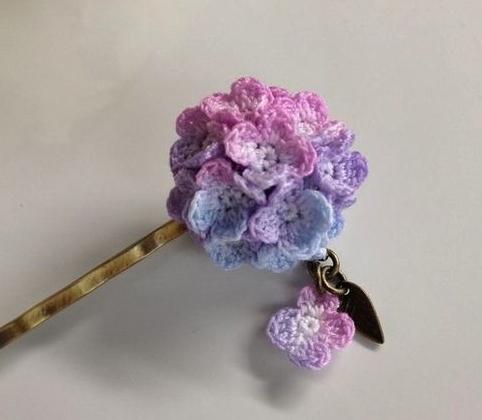 mini kwiatki szydelkiem tutoriale