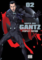 Hiroya Hoku, Manga, Critique Manga, Delcourt / Tonkam, Gantz Perfect,