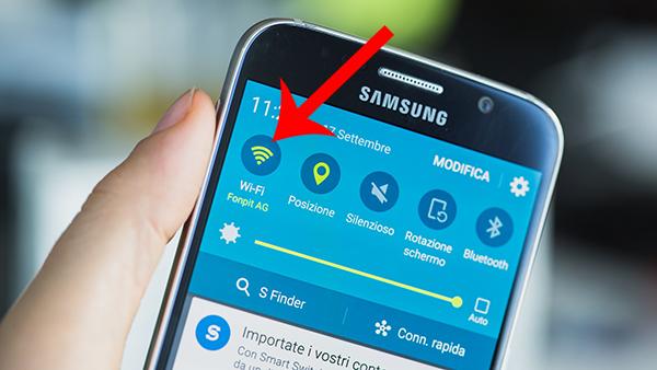 طريقة ايقاف الواي فاي تلقائيا لكي تجعل بطارية هاتفك تدوم طويلا