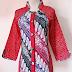 Desain Model Baju Batik Lengan Panjang Remaja