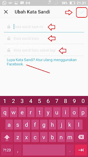 Cara Ganti Password dan Email Instagram