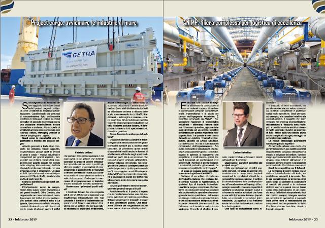 FEBBRAIO 2019 PAG. 22 - Project cargo, avvicinare le industrie al mare