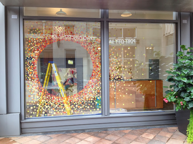 Kathryn Godwin Visual Artist Sozo Window Display