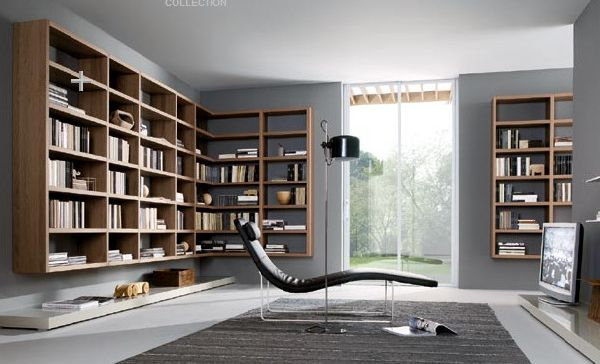 Home Interior Designs Reading Room Design