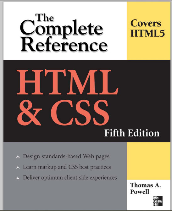 Download free HTML and CSS book(pdf)