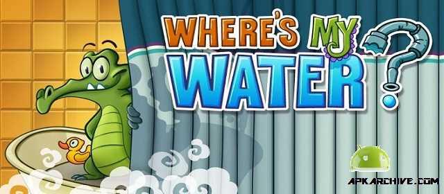 Where's My Water? Android Zeka Oyunu apk indir