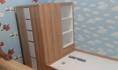 lemari custom kamar anak