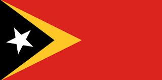 bendera timor timur