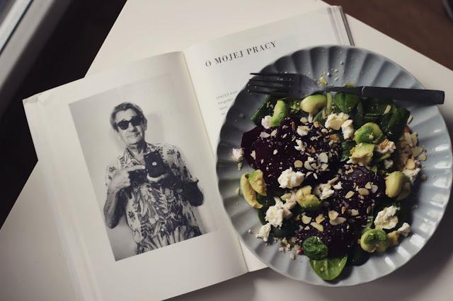 salatka ze szpinakiem