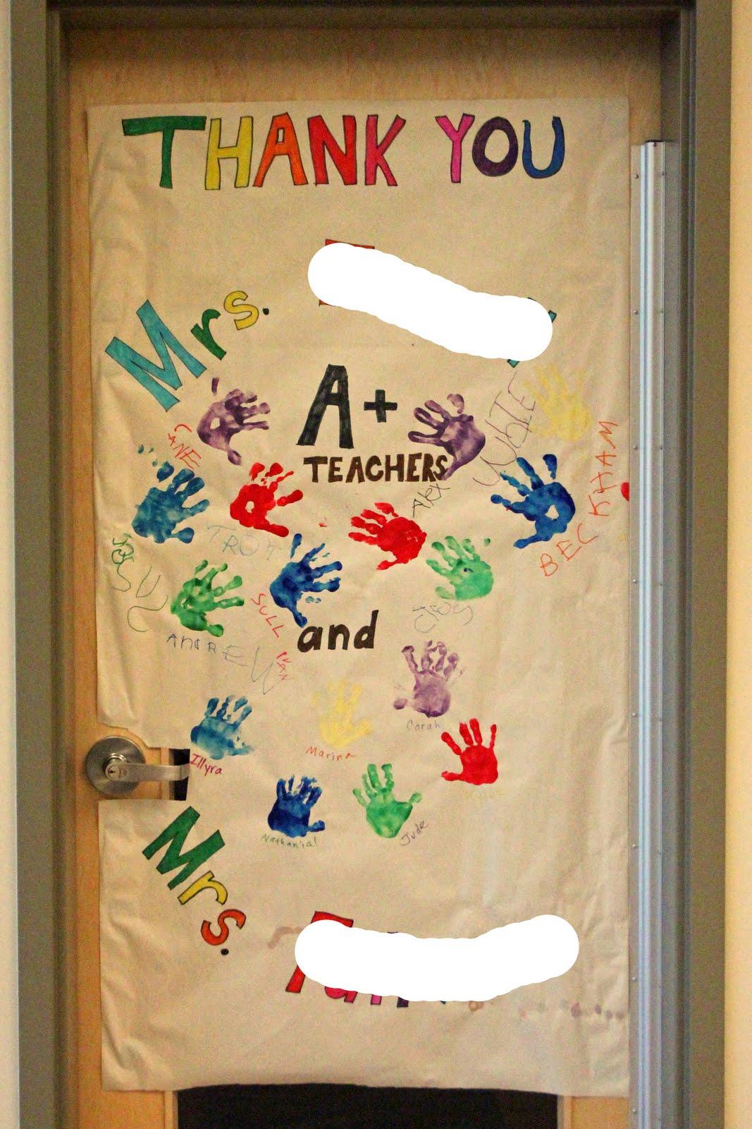 Frills Fluff And Trucks Teacher Appreciation Door Decorating