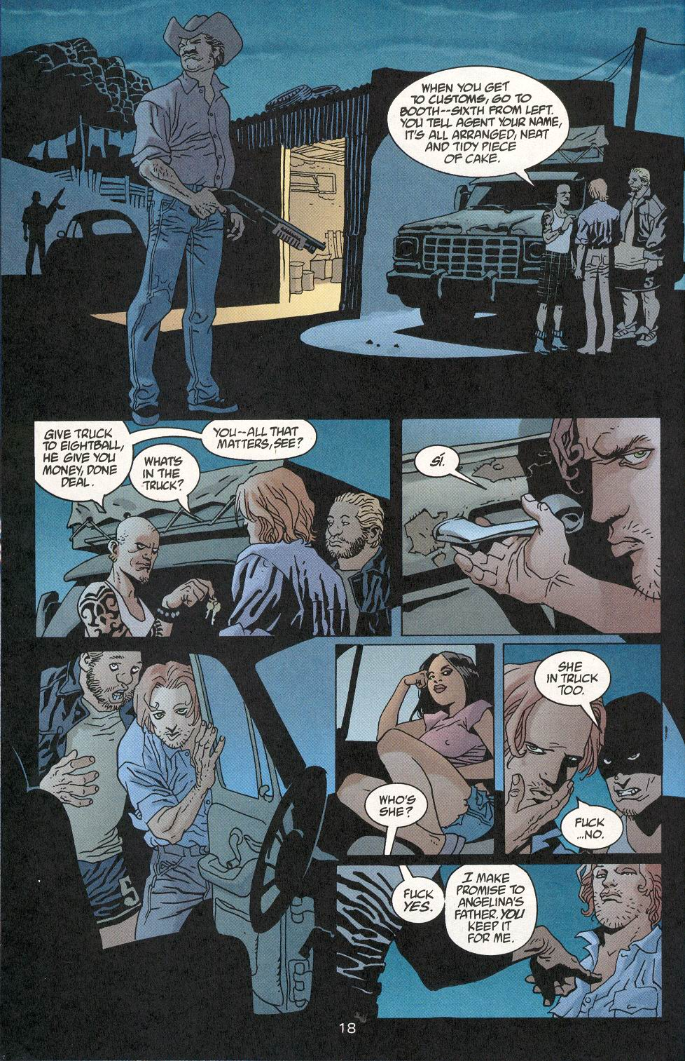 Read online 100 Bullets comic -  Issue #29 - 19
