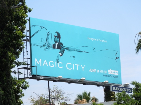 Magic City series 2 billboard