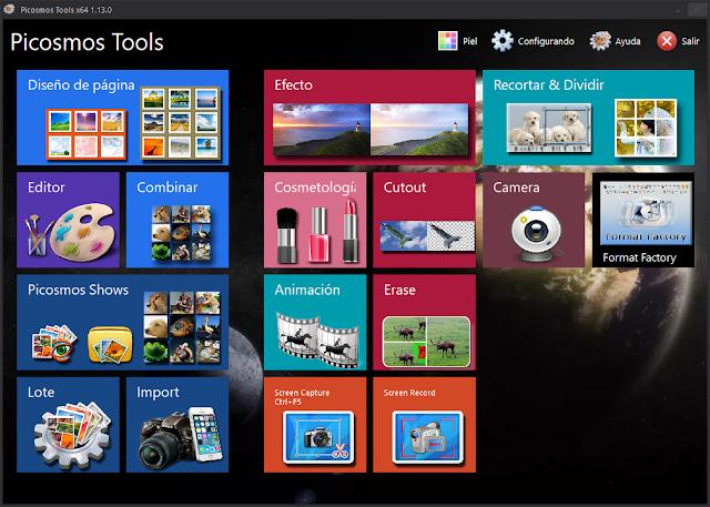 Picosmos Tools v1.13.0.0 | Todo lo que necesitas para editar tus imágenes en un increible programa