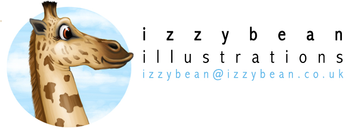 Izzy Bean illustrations