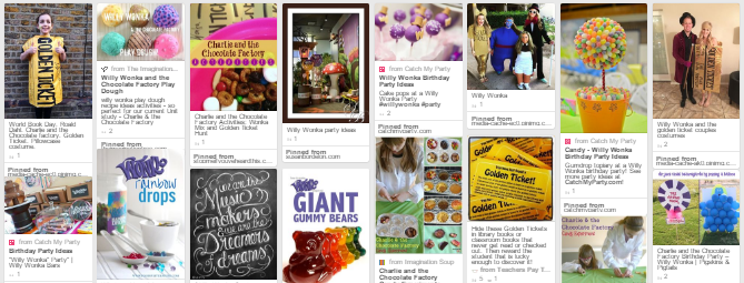 Wonka Week:Pinterest board with ideas you can use for Wonka Week in your classroom