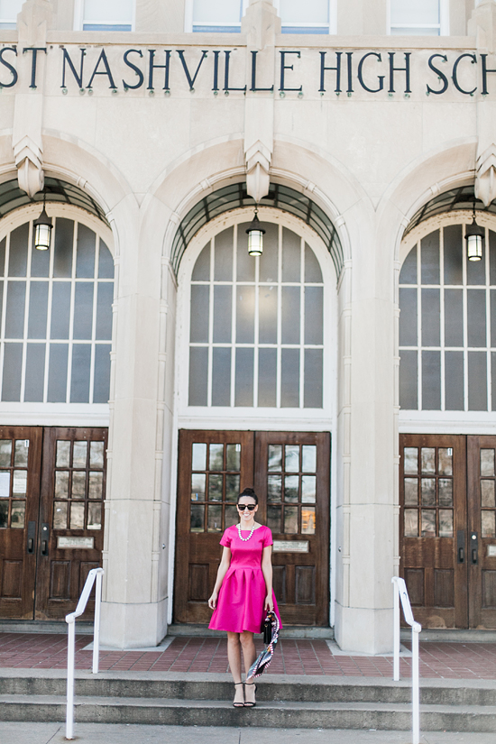 Here&Now: pink party dress for Spring