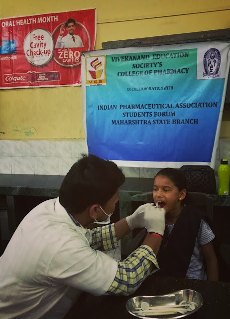 VESCOP organizes dental health camp for children of municipal school in Chembur