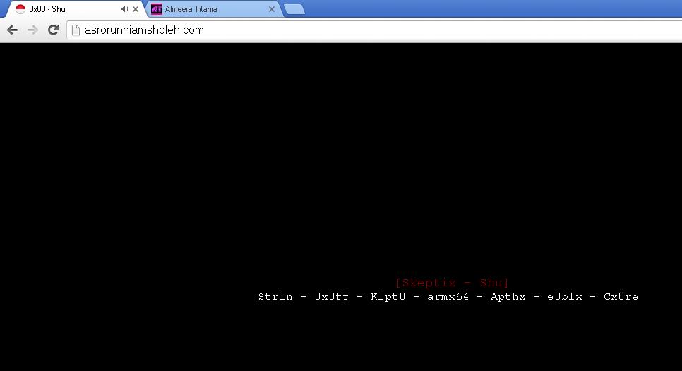 Wah !! Setelah Situs Resmi KPAI Sekarang Website Ketua KPAI Di Hack
