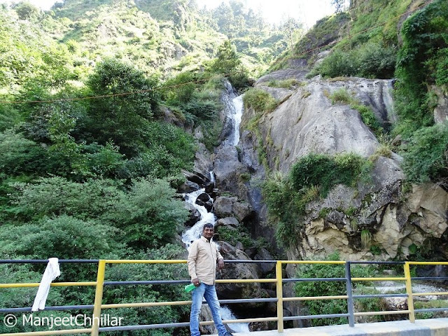 Waterfall In Kinnaur, Himachal