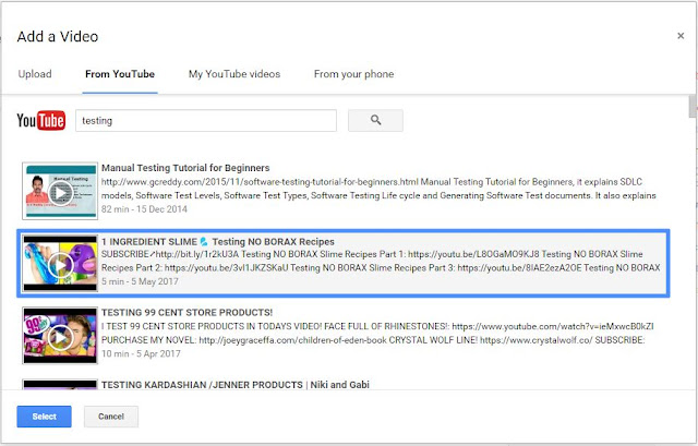 How to embed youtube videos in blogger
