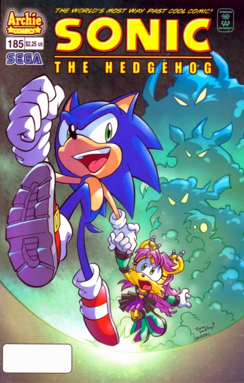 Read online Sonic The Hedgehog comic -  Issue #185 - 1