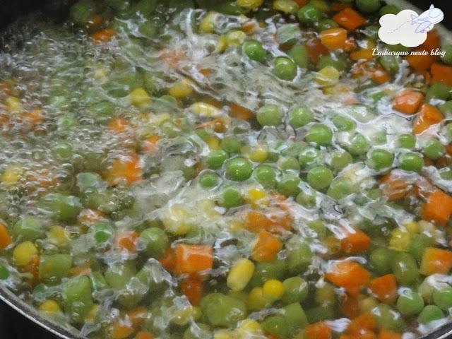 Salada de frango, Lanche de praia, Cozinha do Viajante, Embarque neste blog