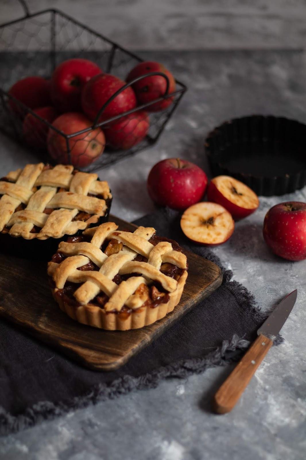 Délicieuse recette de tartelettes aux pommes façon apple pie