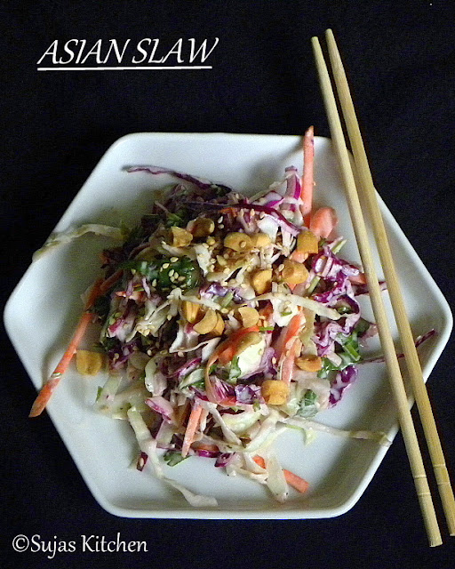 How to make Asian Slaw
