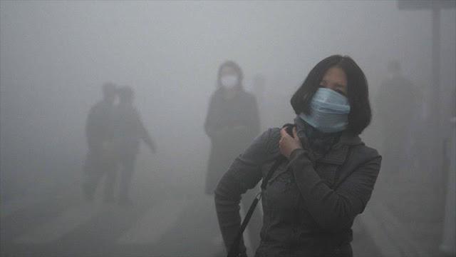 OMS: 90% de población mundial respira aire altamente contaminado