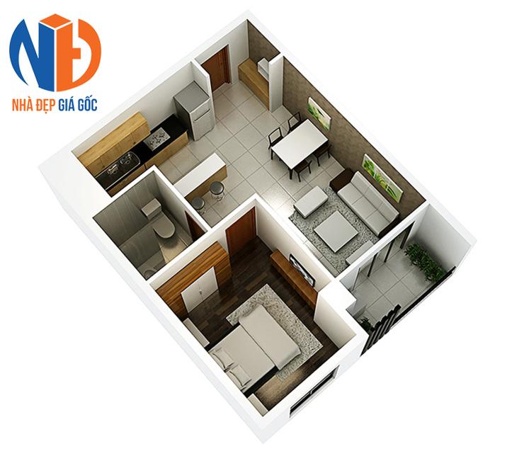 Có nên mua căn hộ chung cư 1 phòng ngủ?