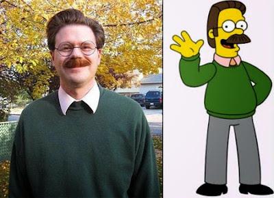 Flanders de los Simpson existe en la vida real