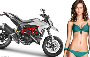 2016 Ducati Hypermotard 939 with model image