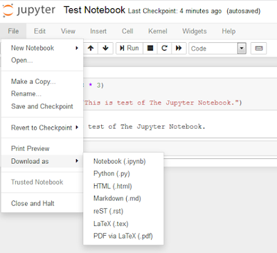 Reflections of a Data Scientist: (Python) Jupyter Notebook