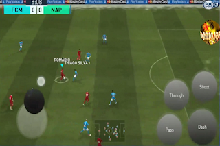 has been upgraded alongside the latest modern to gibe the work of fever  Download PES 2018 Mobile V2.3.3 Mod MENU Tokyo Ghoul Amount Kits 2018/2019