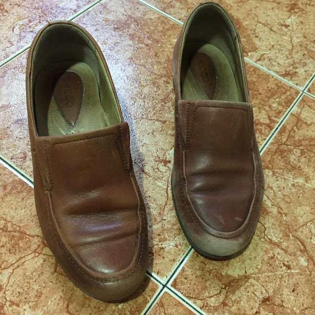 Saphir Pommadier before after
