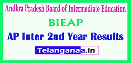 AP Inter 2nd Year Results Andhra Pradesh 2nd year 2019 Results