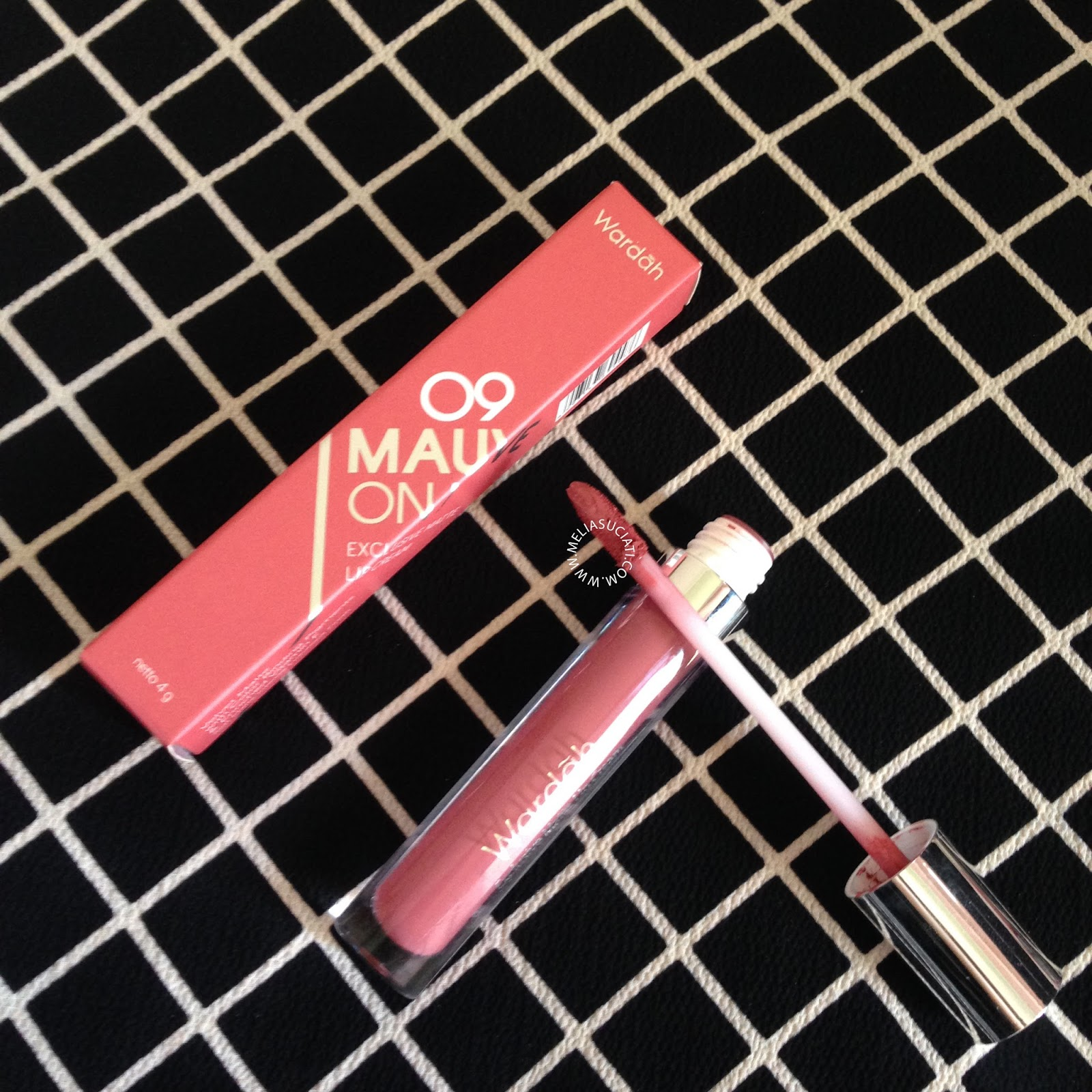 Wardah Exclusive Matte Lip Cream Shade 08,09,10 (Review and Swatches)
