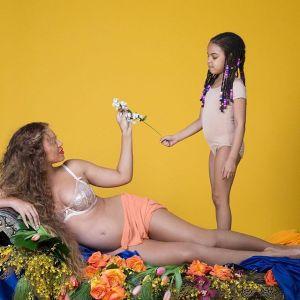 Foto Hamil Seksi Beyonce
