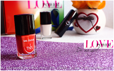 "Nail Polosh Nailart ""Be Me Girl""  nails lipstick -  Love Power Collection - TNS Cosmetics"