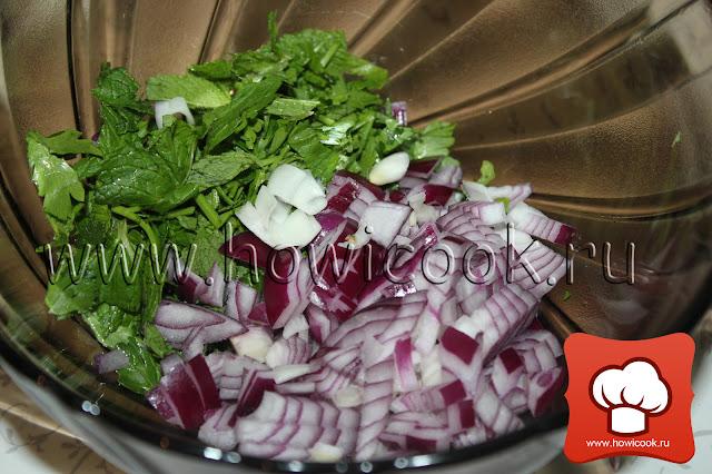 рецепт классического таббуле пошаговые фото