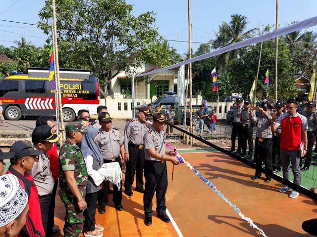 Peringati Hari Bhayangkara, Polres Pesawaran Mengadakan Lomba Volly Kapolres Cup