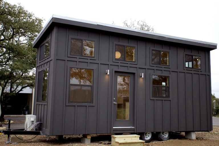 Tiny House Town The Black Pearl By Nomad Tiny Homes