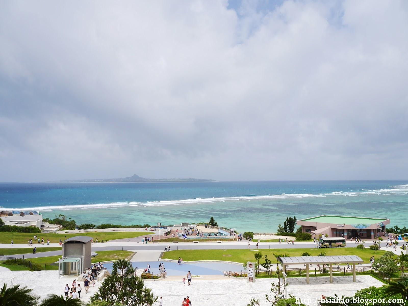 沖繩-海洋博公園-美麗海水族館-觀光巴士-自由行-旅遊-Okinawa-hip-hop-bus