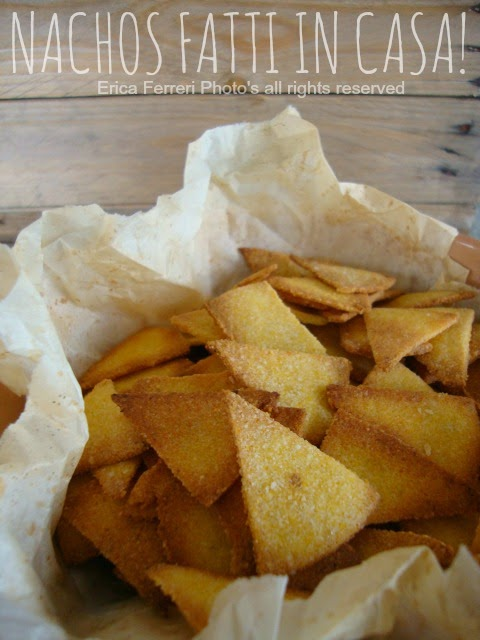 Ricetta Nachos Fritti.Ogni Riccio Un Pasticcio Blog Di Cucina Nachos Fatti In Casa Con Salsina Messicana Perfetti Per Il Forno O Per Friggere