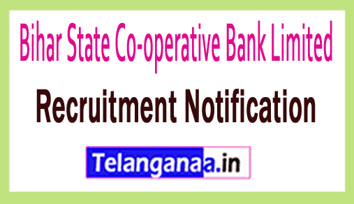 Bihar State Co-operative Bank Limited BSCB Recruitment