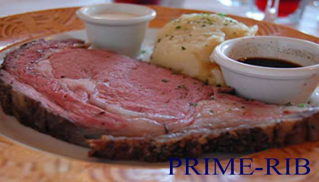 prime rib beef steak