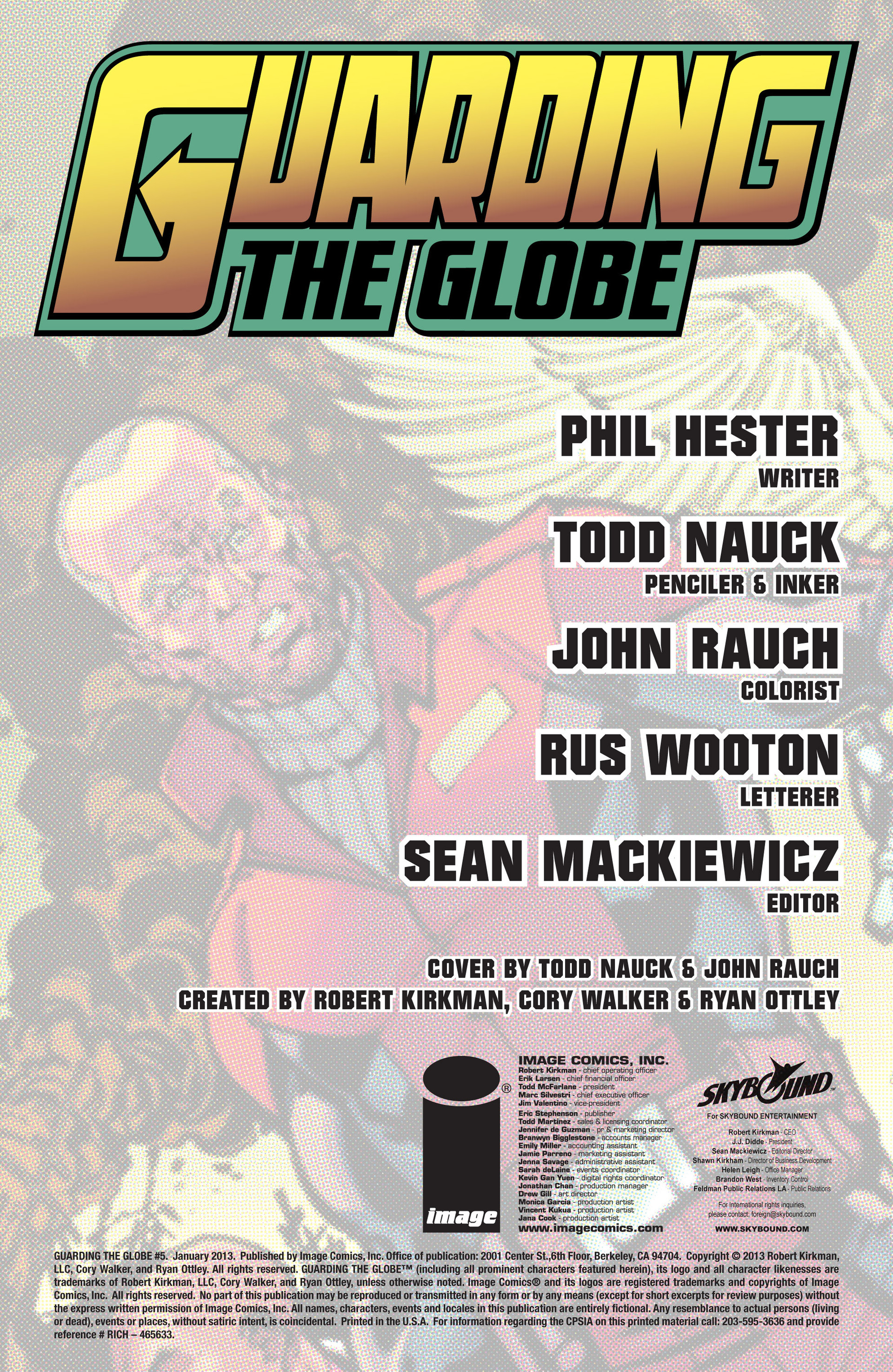 Read online Guarding the Globe (2012) comic -  Issue #5 - 2
