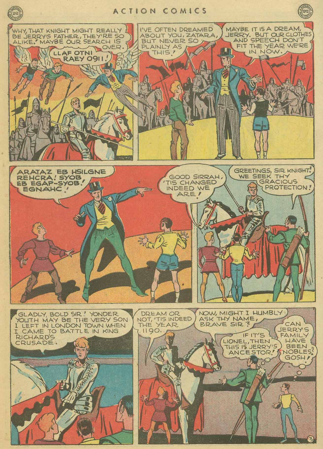 Read online Action Comics (1938) comic -  Issue #102 - 43